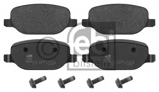 FEBI BILSTEIN 16851 Brake Pad Set