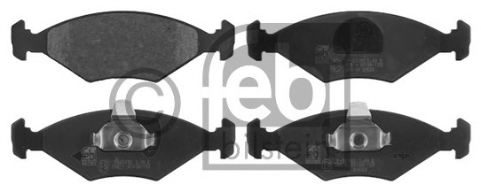 FEBI BILSTEIN 16855 Brake Pad Set