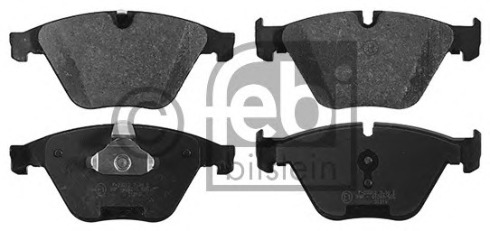 FEBI BILSTEIN 16865 Brake Pad Set