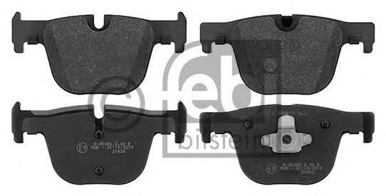FEBI BILSTEIN 16867 Brake Pad Set