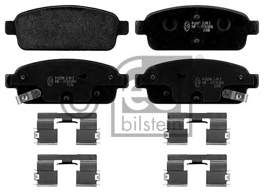 FEBI BILSTEIN 16894 Brake Pad Set