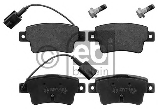 FEBI BILSTEIN 16898 Brake Pad Set