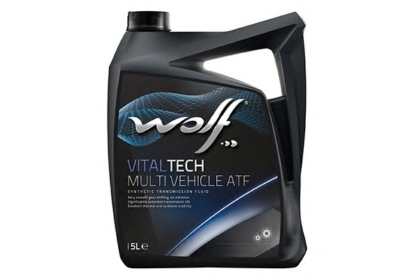 WOLF 8305702 Масло ATF MULTI VEHICLE Wolf VITALTECH  5л