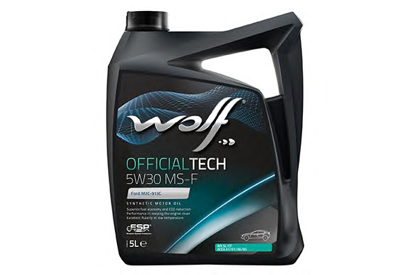 WOLF 8308819 Масло Wolf  5W30 OFFICIALTECH MS-F  5л