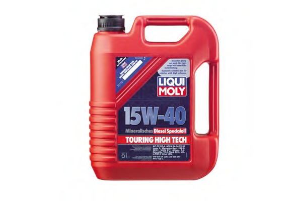 Liqui Moly 1073 Масло Liqui Moly 15W40 Diesel Special Oil THT 5л