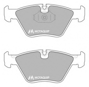 MOTAQUIP LVXL1703 Колодки BMW, 3 (E46), 3 Convertible (E46), 3 Coupe (E46), 3 Touring (E46), X3 (E83), MG, MG ZT, MG ZT- T