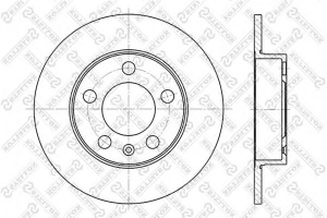 STELLOX 6020-4761-SX BRAKE DISC